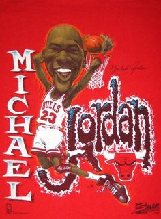 Michael Jordan Caricature