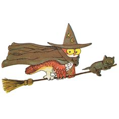 richard scarry witch halloween