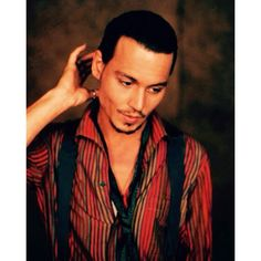 Johnny Depp By John Huba For Chocolat 2000