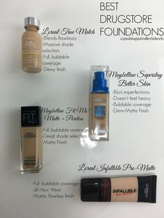 Best Drugstore Foundations!:
