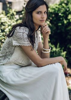 Laure de Sagazan Wedding Dress Collection | Laurent Nivalle | Bridal Musings Wedding Blog 48
