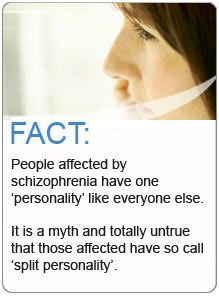 "Schizophrenia is not ""split personalities!"" Not even close."