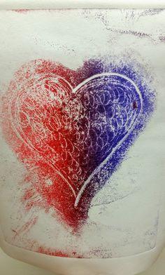 Cotton Turner, The Printmaker ~ Visual Artist & Instructor ~ Printmaking, Fine Art Prints, Art Gallery, Abstract, Heart, Artwork, Artist, Cotton, Summary