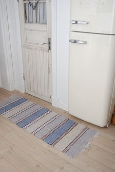 charming old fridge