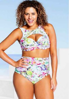 Swimsuits For Girls With Big Boobs | I love the cut of this top but not sure I want those tan lines