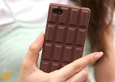 Chocolate iPhone Case. I could handle this - but it needs to be a shade or two darker.