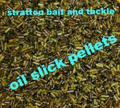 NEW OIL SLICK FISHING PELLETS GREEN 3MM SARDINE & ANCHOVY FLAVOUR GROUND BAIT Bait And Tackle, Fishing, Oil, Green, Peaches, Pisces, Butter, Gone Fishing