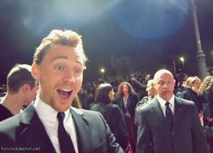 Tom Hiddleston's smile strikes again, inducing feels and love in every heart it's gentle light filters upon!
