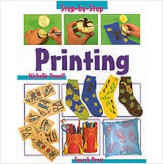 STEP BY STEP PRINTING CHILDRENS BOOK BRAND NEW £3.49+FREE POSTAGE