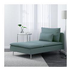 SÖDERHAMN Chaise - Finnsta turquoise - IKEA