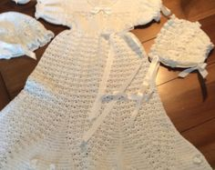 I really like this! Blessing gown paid crochet pattern on Etsy | PatternsbyHalina
