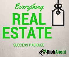 ON SALE TODAY ONLY Everything Real Estate Success Package Tools for by RichAgent