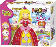 "Набор чудо-глины для творчества Angel Clay ""Принцесса"""