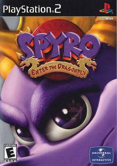 Spyro Enter the Dragonfly Sony Playstation 2 Game