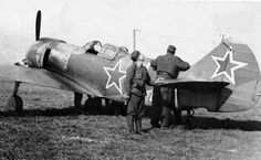 Ла-5 - одномоторный истребитель