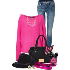 A fashion look from January 2015 featuring Juicy Couture sweaters, Juicy Couture jeans and Christian Louboutin flats. Browse and shop related looks.
