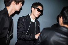 Jo Minho & Ahn Jaehyun  2014S/S Seoul Fashion WeekD.GNAK BY KANG.D Backstage