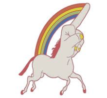 Middle Finger Unicorn