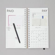 DIY-Rechnungen-Kalender von REDSTARink auf Etsy
