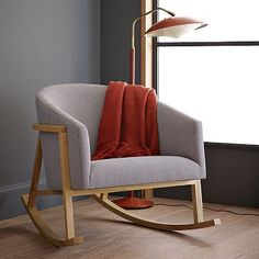 I love rocking chairs... but this looks is so much more my style than the traditional version