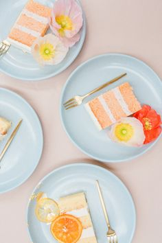 is an online source of inspiration for fun-loving wedding + party planners, covering real weddings and parties, recipes, DIYs and more! Party Market, Citrus Cake, Honey Cake, Mermaid Parties, Kid Party Favors, Beautiful Wedding Cakes, Milk And Honey, New Flavour, Wedding Website