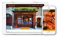Refonte graphique pour le site Internet la Favola Ristorante. Découvrez le dès maintenant sur www.restaurant-la-favola.ch Le Site, Site Internet, Restaurant, Chart, Simple, Diner Restaurant, Restaurants, Dining