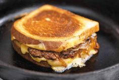 Patty Melt Recipe (The beloved patty melt is a beautiful thing—essentially a melding of hamburger and grilled cheese sandwich with sautéed onions tossed in for good measure.)