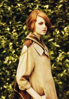 Lindsey Wixson | Lulu Magazine fall winter 2009.