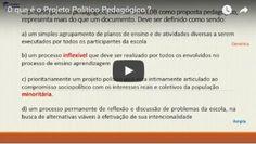 O que é o Projeto Político Pedagógico - PPP ?