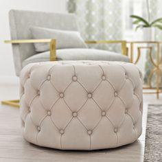 Mercer41 Connelly Upholstered Ottoman & Reviews   Wayfair