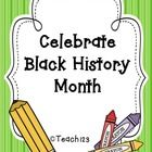 $ Celebrate Black History Month with activities that highlight contributions by famous African American.  Aligned with 1st and 2nd grade Common Core ...