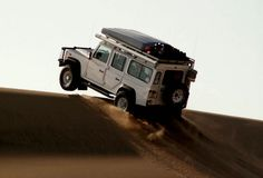 Top of a Sand Dune. Nothing like a Rover. I scared the heck out of everyone taking my baby car on cliffs etc. best!!