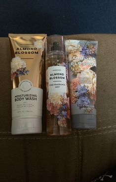 Hello, I have a 3 piece Almond Blossom set from bath and body works. This includes the creamy moisturizing Body wash, Body cream and mist. I will package carefully and ship within via fed ex. Thanks for stopping by! Bath N Body Works, Bath And Body Works Perfume, Victoria Secret Fragrances, Almond Blossom, Sensitive Skin Care, Body Lotions, Body Care, Glossy Makeup, Dark Makeup