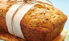 Knuspriges Zucchini-Quark-Brot