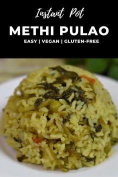 Methi Recipes, Spicy Recipes, Cooking Recipes, Healthy Veg Recipes, Vegetarian Snacks, Vegetarian Breakfast Recipes Indian, Veg Biryani, Comida India, Easy Indian Recipes