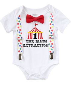 Circus First Birthday Outfit Baby Boy With Circus Tent and Bow Tie Circus First Birthday Outfit Baby Boy With Circus Tent and Bow Tie – Noah's Boytique Circus First Birthday, First Birthday Outfits Boy, Circus 1st Birthdays, 1st Birthday Boy Themes, First Birthday Shirts, Birthday Party Outfits, Carnival Birthday Parties, First Birthdays, Baby Birthday