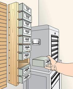 Simple Screw-Box Shelves