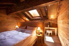 Schlafen wie anno dazumal: Das Maiensässhotel Guarda Val verfügt über einen...