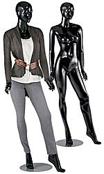 Glossy+Black+Female+Mannequin+-+Sydney