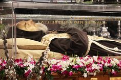 The partially incorrupt body of Padre Pio has arrived to Rome for the first time ever alongside that of another friar, St. Leopold Mandi?, as a special initiative for the Jubilee of Mercy.