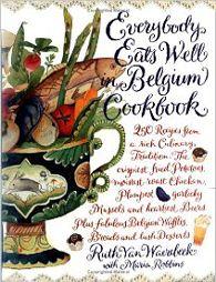 Everybody eats well in Begium cook book
