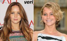 Transformação radical: Jennifer Lawrence mostrou que não tem medo da tesoura!