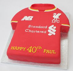 40th liverpool fc shirt | A LFC shirt for a special 40th bir… | Flickr