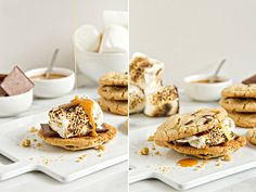 Cookie S'mores?! Yes please :) The 15 Best Dessert Recipes of 2014 | Shari's Berries Blog