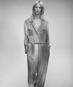 A Fendi Resort16 jumpsuit featured in the latest Harper's Bazaar Spain