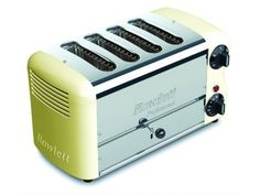 Rowlett Esprit 4 Slice Double Brunch Toaster in Cream - Toasters - Electronics