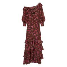 johanna-ortiz-lollia-paulina-one-shoulder-ruffled-printed-silk-georgette-gown