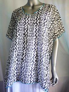 ef2c2eb48a30c Sheer Cover-up Hawaiian Mocha Gold Polynesian Women's Blouse, boho, Shirt,  tunic travel- Fits M L XL Plus Size - Made in Hawaii | Summer cover-up |  Sheer ...