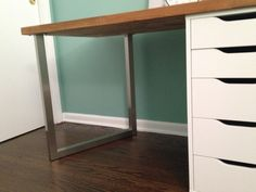 Desk With File Cabinet Ikea Part 46