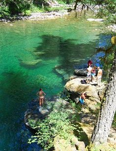 Englishman River falls BC. Great swimming holes and amazing trails. My Grandmother spoiled me.